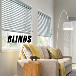 room with wite blinds on white walls